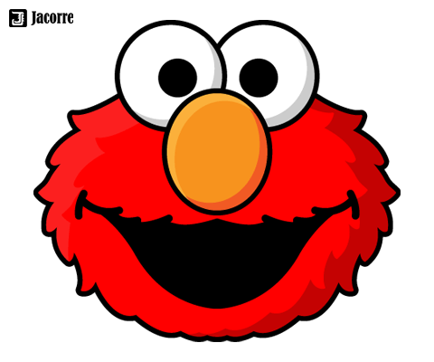 Projects jacorre for Printable elmo cake template