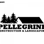 Pellegine Construction & Landscaping Logo